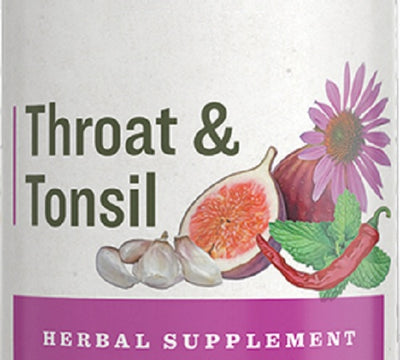 THROAT & TONSIL - Soothing Echinacea Garlic & Cayenne Immune Tincture