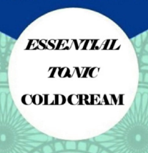 ESSENTIAL TONIC ARTISAN COLD CREAM with Tea Tree, Rosemary, Lavender & Peppermint