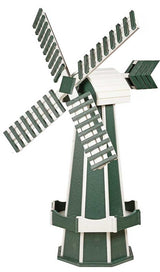 "60"" POLY WINDMILL - Working Dutch Garden Weather Vane in 22 Colors Amish USA"