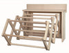 Amish Handmade Laundry Drying Rack Wall Unit