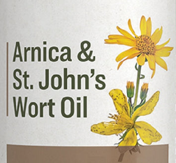 ARNICA & St. JOHN'S WORT OIL - with Rosemary and Vitamin E Oils
