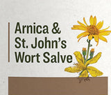 ARNICA & ST. JOHN's WORT SALVE - Organic Skin Health with Natural Beeswax