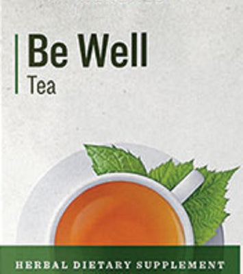 BE WELL TEA - Organic Herbal Immune Support with Raspberry & Peppermint