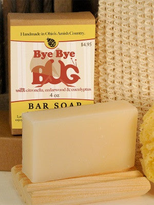 Bye Bye Bug Soap ~ All Natural Handmade 3.5oz