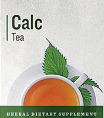 CALC TEA - Organic Herbal Blend for Healthy Teeth Bones & Hair