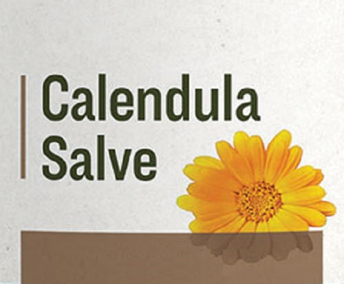 CALENDULA SALVE - Natural Herbal Moisturizing Treatment & Care