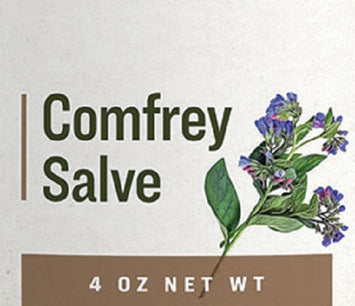 COMFREY SALVE - Organic Healthy Skin Support & Inflammation Aid