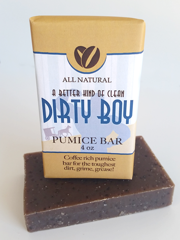 Dirty Boy Soap ~ All Natural Handmade  3.5oz