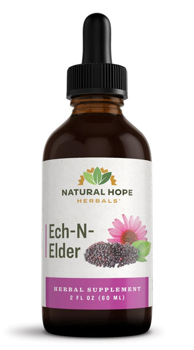ECH-n-ELDER COMPOUND - Synergistic Echinacea & Elderberry Immune Support Blend