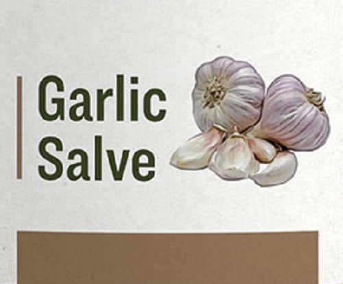 GARLIC SALVE - Organic Immune Support Herbal Chest & Skin Rub