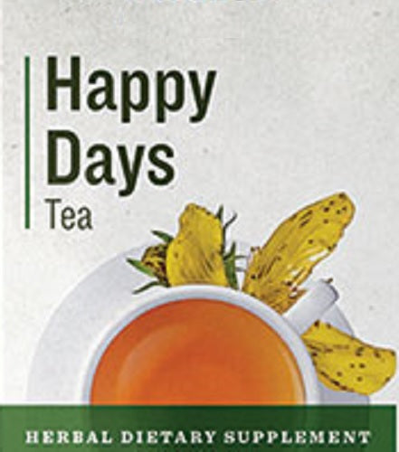 HAPPY DAYS TEA - Organic Herbal Blend Traditional Mood Lifter