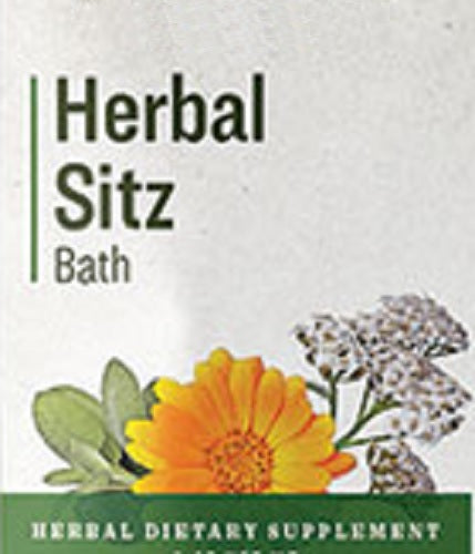 HERBAL SITZ BATH - Soothing 10 Herb Body Soak Healing Blend