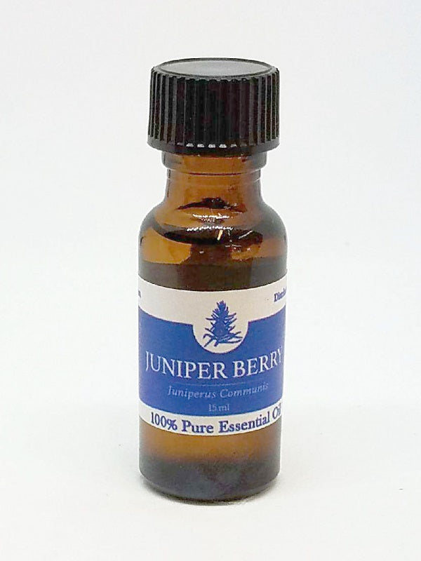 JUNIPER BERRY Essential Oil - 100% Pure Piney Camphorous & Slighty Sweet