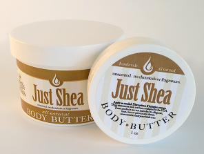 Unrefined IVORY SHEA BUTTER ~ Unscented Moisturizer with No Added Chemicals or Fragrances