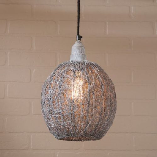 Nesting Wire Hanging Pendant Ceiling Light Fixture
