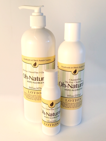 Oh Naturale Silk Body Lotion ~ Handmade with No Artificial Color or Fragrance