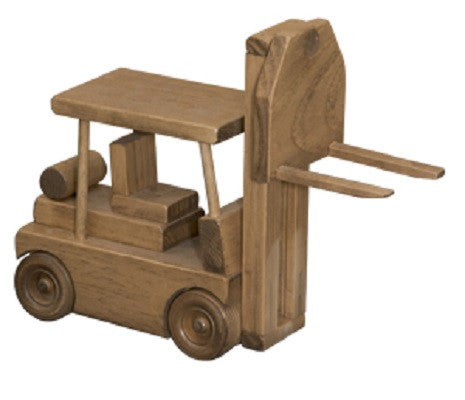 FORK LIFT WOOD TOY TRUCK Amish Handmade Wooden Toys for ...