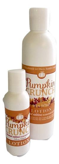 PUMPKIN CRUNCH BODY LOTION ~ All Natural and Handmade in the USA