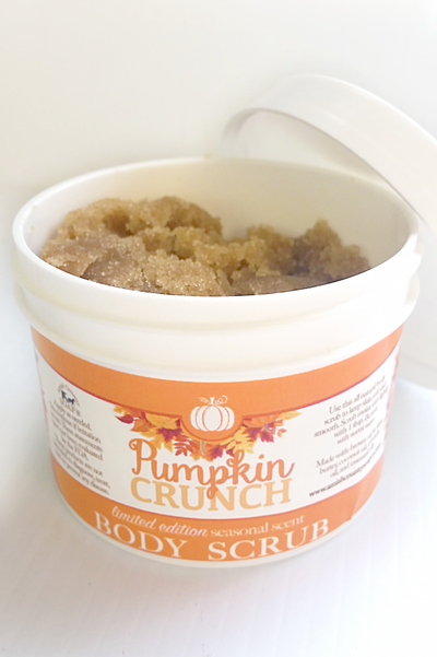 4-in-1 PUMPKIN CRUNCH BATH & BODY PACK - Soap Lotion Scrub & Bomb