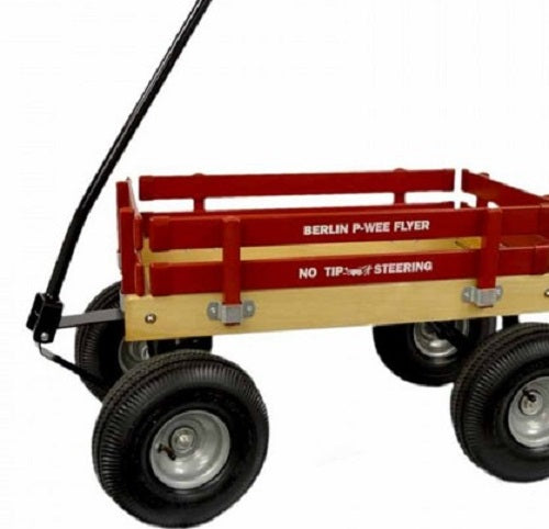 Off Road Wagon >> Bigfoot Berlin Flyer Wagon Children S Garden Beach Atv In 8 Bright Colors