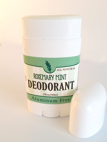 Rosemary & Mint Deodorant ~ All Natural Handmade and Aluminum Free