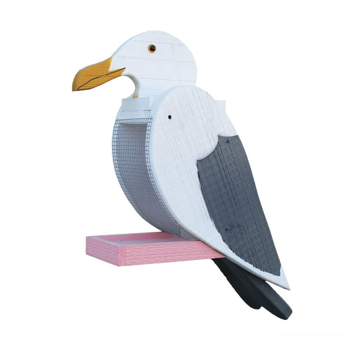 SEAGULL BIRD FEEDER - Large & Bright Nautical Seed Feeder