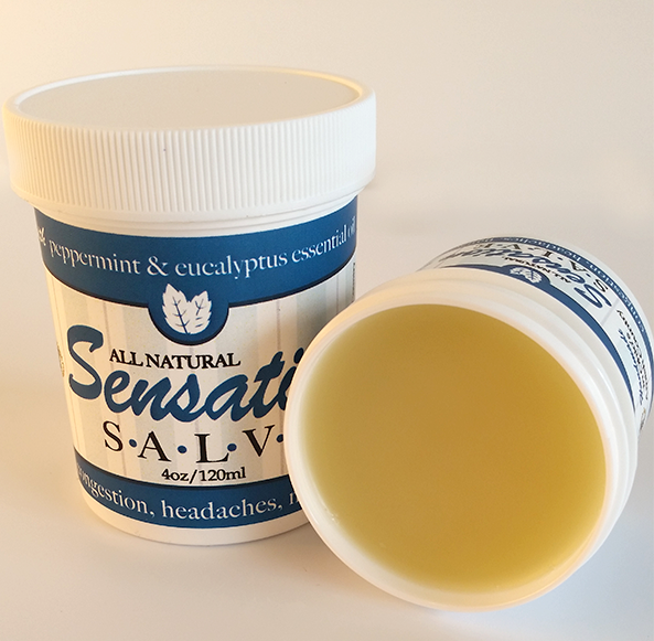 SENSATION SALVE ~ All Natural with Peppermint & Eucalyptus Oils Handmade in USA
