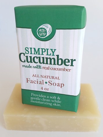 Simply Cucumber Conditioning Soap ~ All Natural Handmade  3.5oz