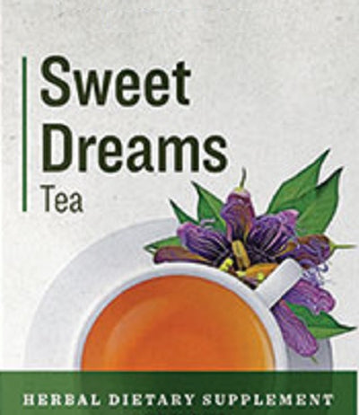 SWEET DREAMS TEA - Organic Herbal Blend for Natural Restful Sleep