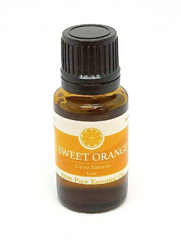 SWEET ORANGE Essential Oil - 100% Pure Skin Support Stress Relaxing Aromatherapy