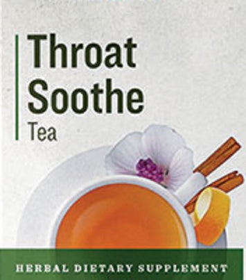 THROAT SOOTHE TEA - Moistening Soothing 8 Herb Comfort Formula