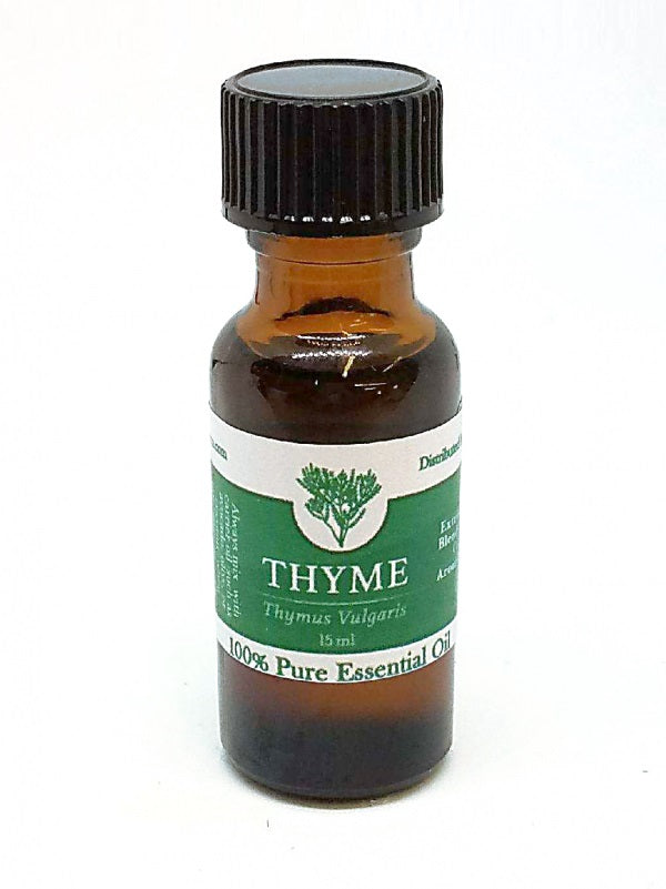 100 % PureTHYME Essential Oil - Stress Relaxing Memory Support Aromatherapy