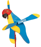 PARROT PENGUIN PUFFIN WIND SPINNER - Amish Handmade Whirlybird Whirligigs