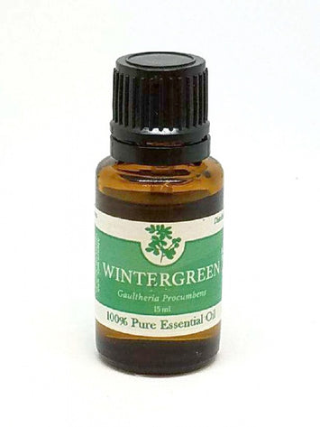 100% Pure WINTERGREEN Essential Oil - Minty Sweet & Earthy Aromatherapy