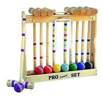 CROQUET SET & CADDY 8 Player 24