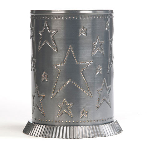 Candle Warmer Handmade Punched Tin Country Star USA