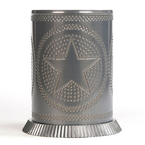 Punched Tin Electric Candle Warmer Country Star Handmade in USA
