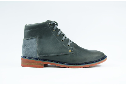 Mens Marabu Grey Boots by Bestias