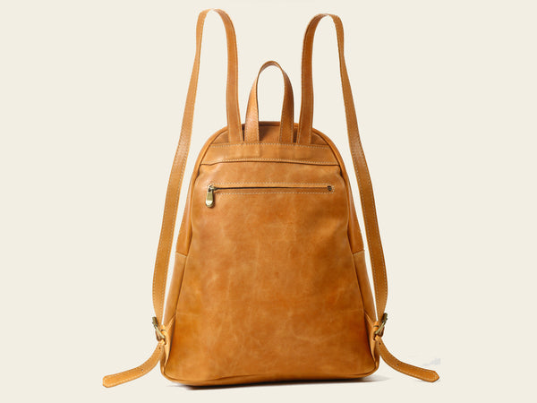 Bell Backpack - Light Brown