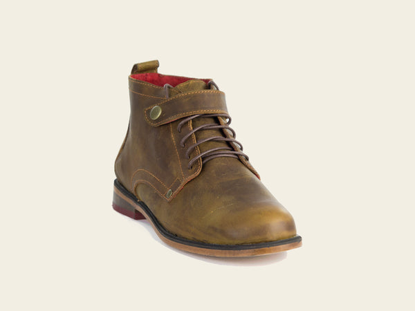 Dodo Brown Boots by Bestias