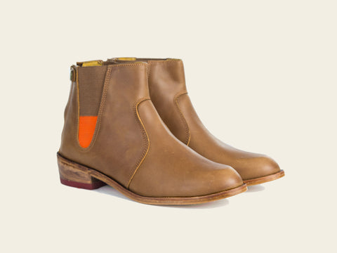 Manati Brown Boots by Bestias