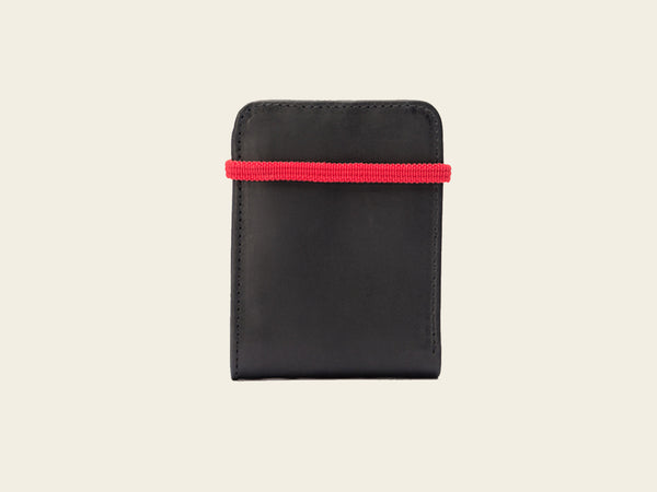 Slim Wallet - Black/Red