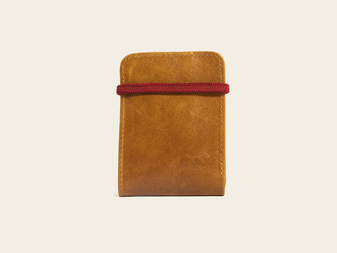 Slim Wallet - Brown/Red