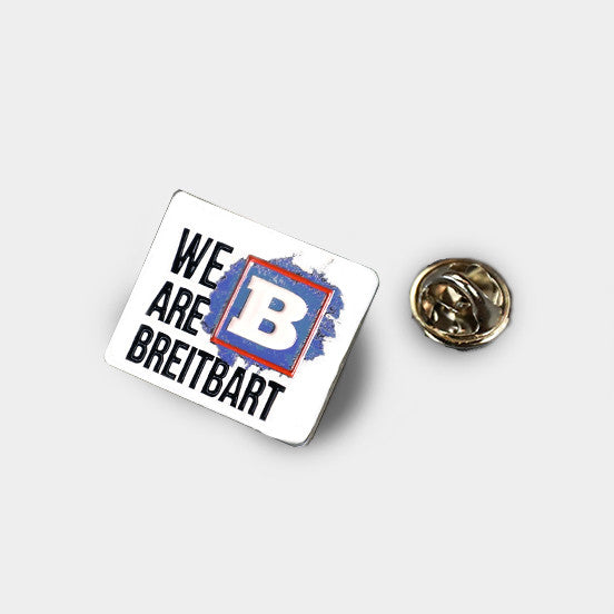 We Are Breitbart Pin