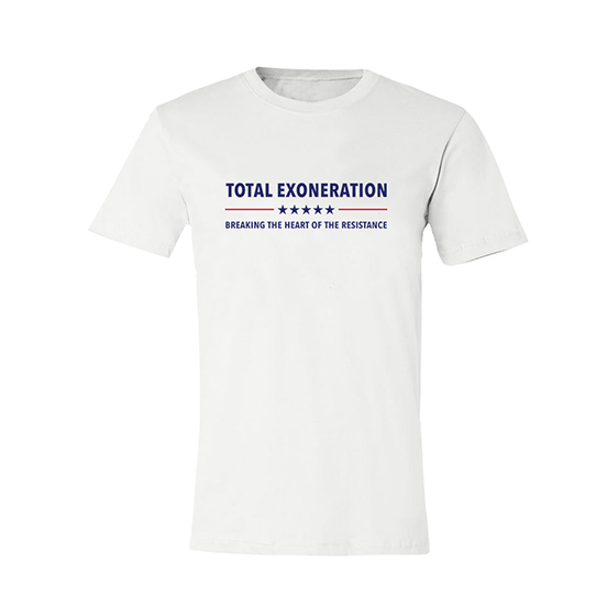 Total Exoneration T-Shirt - White