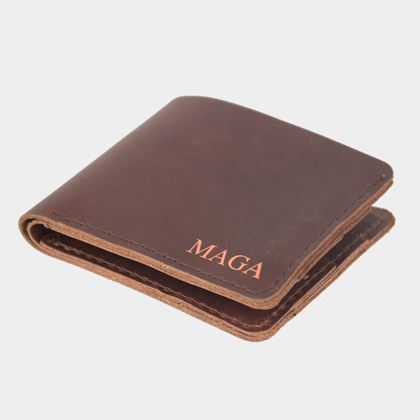 Breitballer MAGA Leather Bi-Fold Wallet