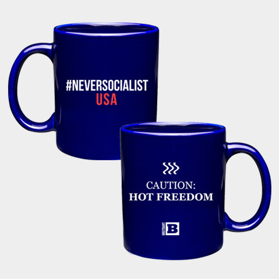 #NeverSocialist Coffee Mug