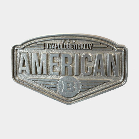 Unapologetically American Belt Buckle