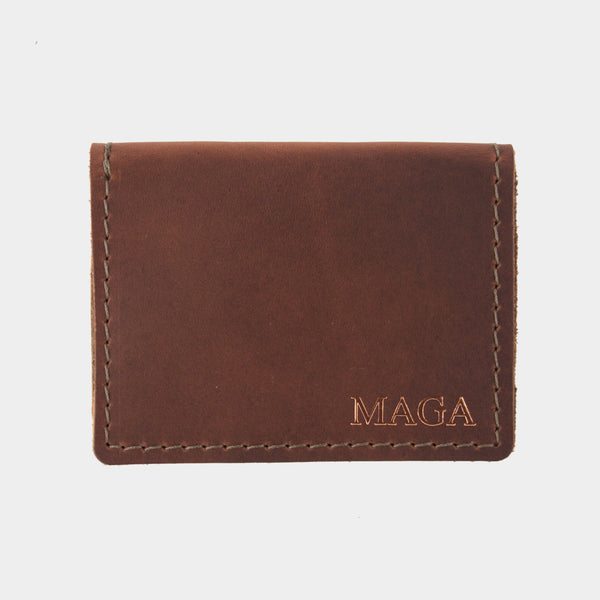 Breitballer MAGA Leather ID Wallet