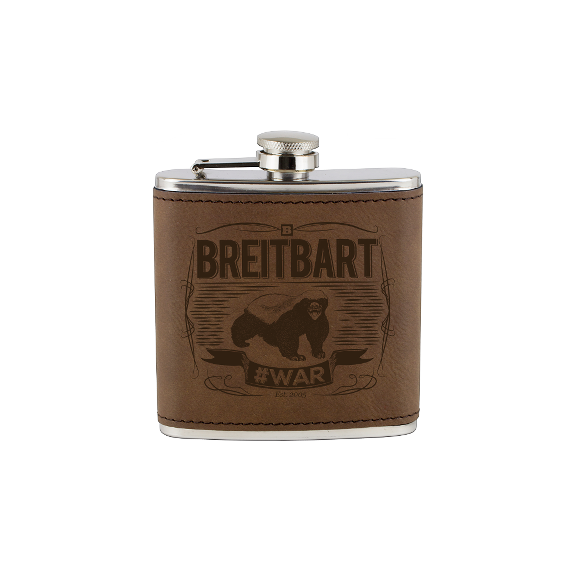 Honey Badger #WAR Flask